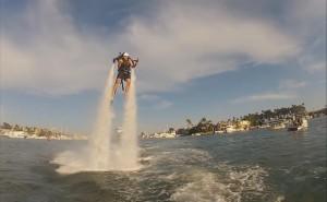water jetpack dimostrazione